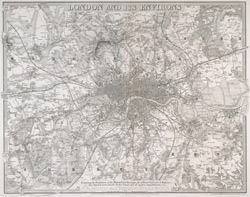 London and its environs (1841)